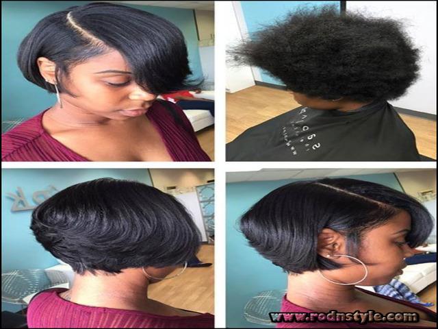 Flat Iron Hairstyles For Black Short Hair 2