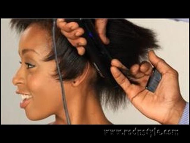 Flat Iron Hairstyles For Black Short Hair 3