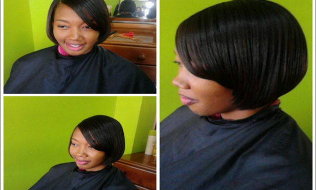 Flat Iron Hairstyles For Black Short Hair 8