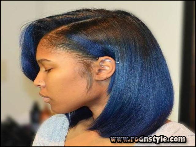 Flat Iron Hairstyles For Black Short Hair 9