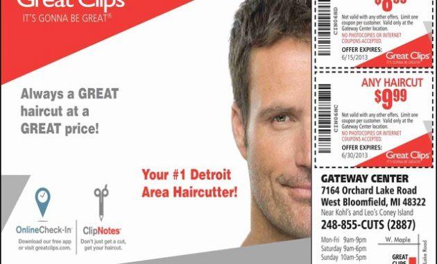 Great Clips $7.99 Haircut 10