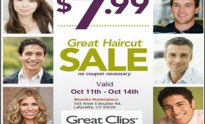 Great Clips $7.99 Haircut 7