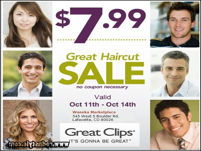 Image for 7 Pictures Of Great Clips $7.99 Haircut