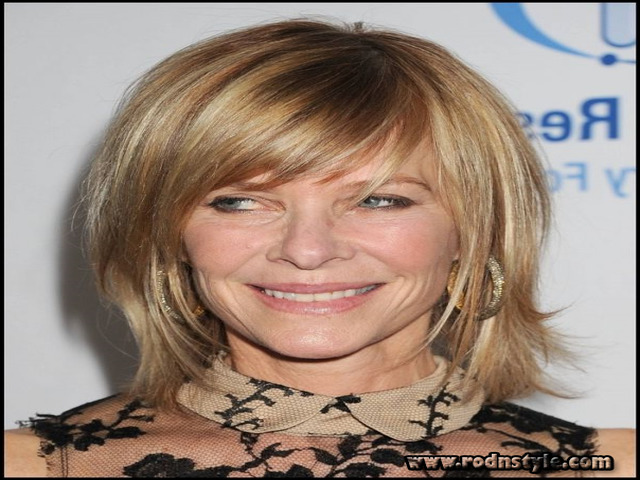 Haircuts For Women Over 50 With Bangs 3