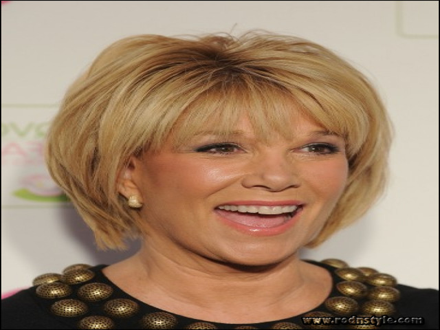 Haircuts For Women Over 50 With Bangs 7