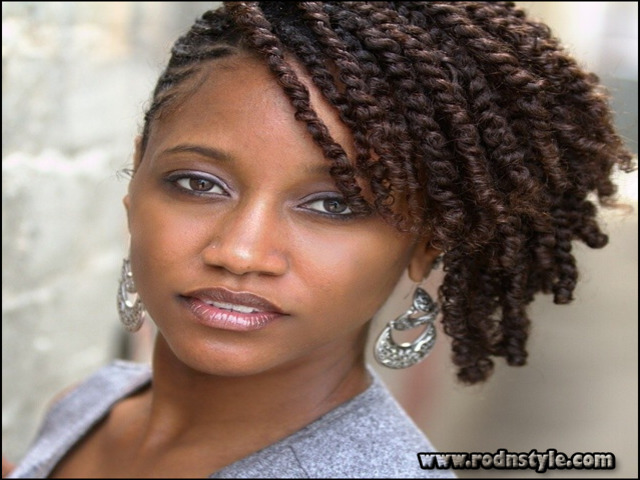 Natural Hairstyles For Black Women Twists 12
