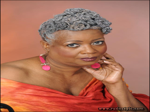 Natural Hairstyles For Older Black Woman 9