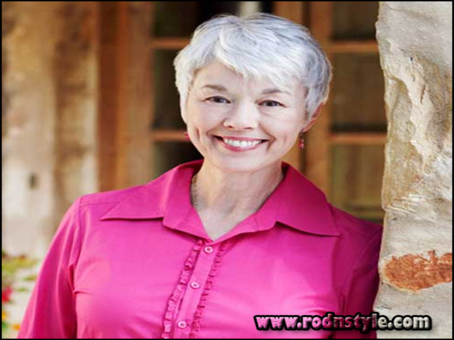 Image for 9 Images Of Short Haircuts For Women Over 70