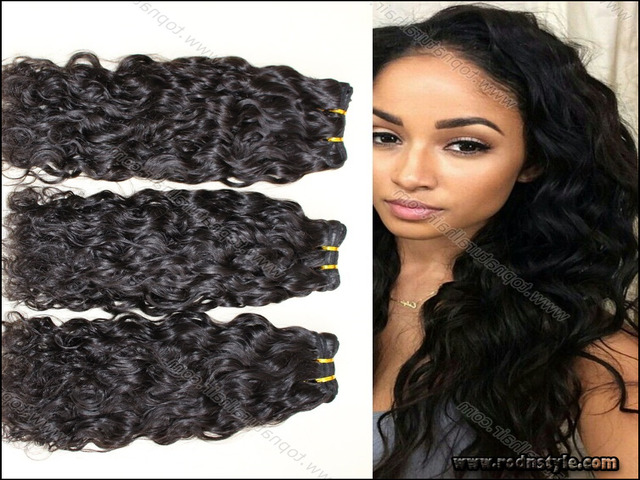 Wet And Wavy Hairstyles For Black Hair 11