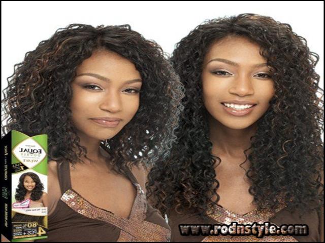 Beach Curl Weave Hairstyles 7