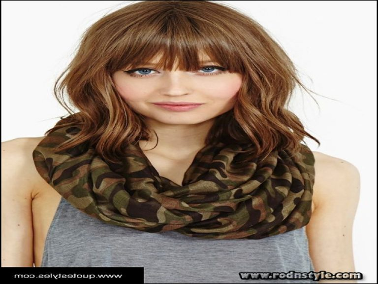 Womens Hairstyles With Bangs 7