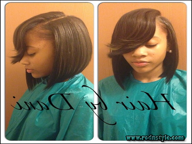 Image for Learn To (Do) Bob Hairstyle Sew In Like A Professional