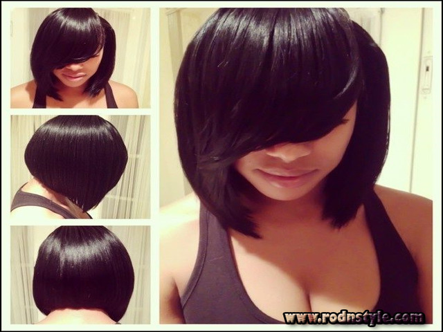 Bob Hairstyle Sew In 6