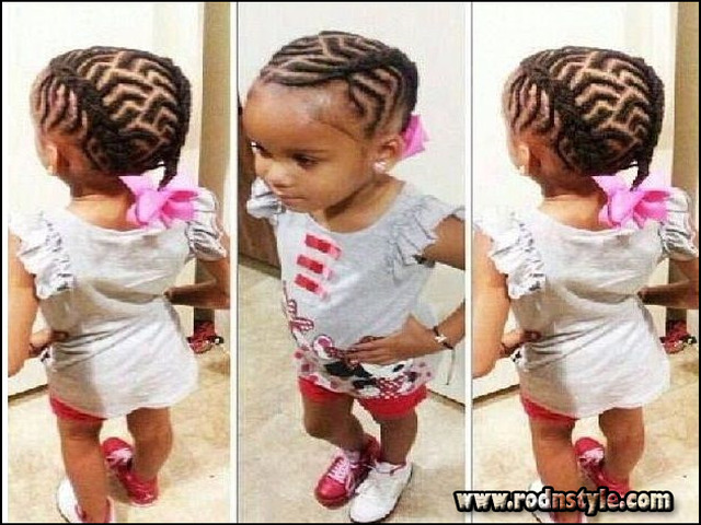 Braided Hairstyles For African American Girls 11