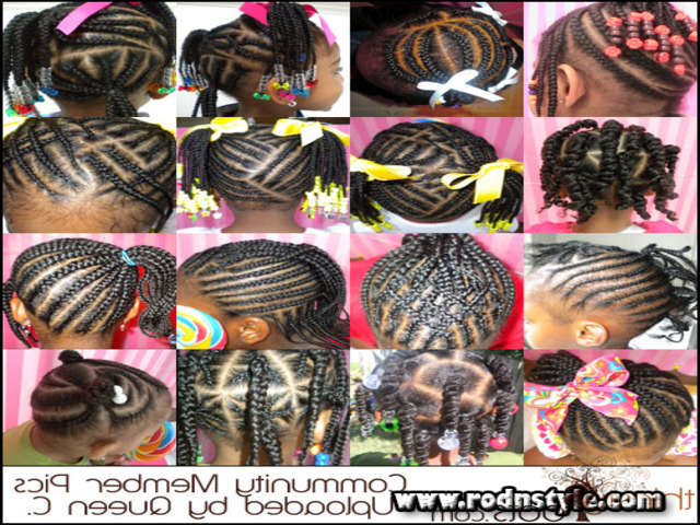 Braided Hairstyles For African American Girls 6