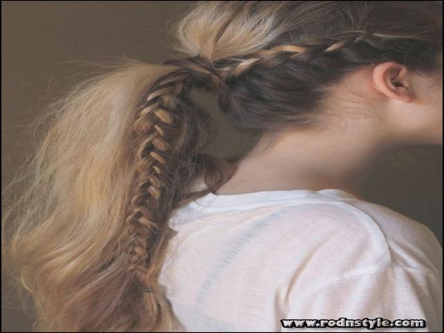 Braided Hairstyles For Thin Hair 3