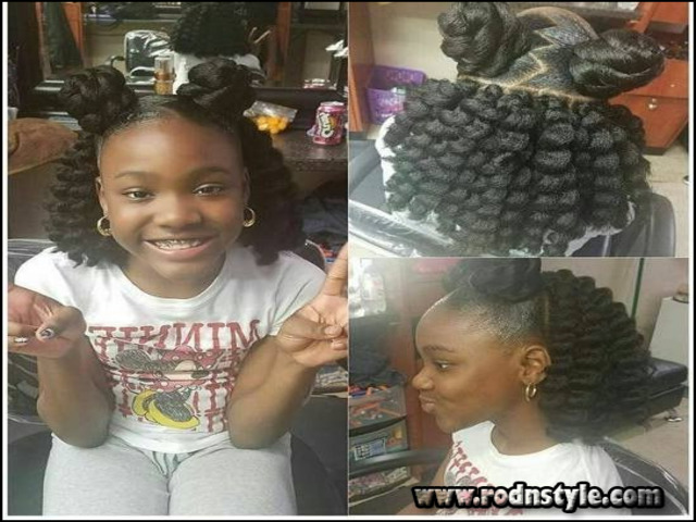 Crochet Hairstyles For Kids 9