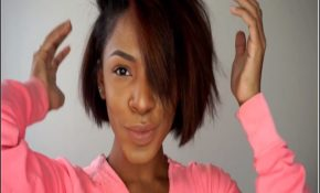 Flat Iron Hairstyles For Short Hair 1