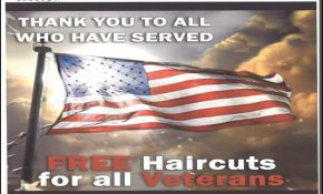 Free Haircuts For Veterans 0