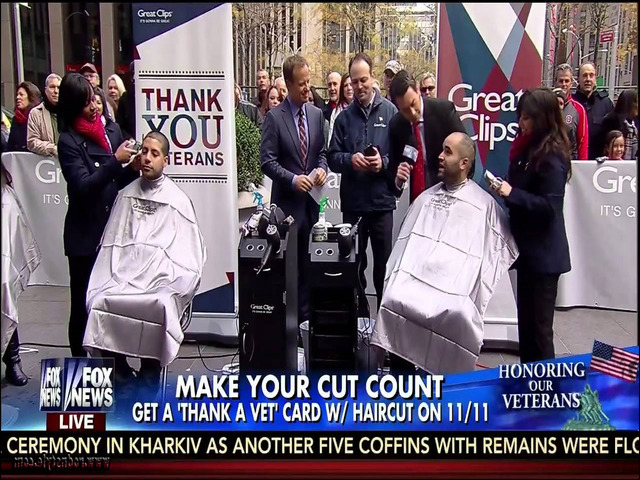 Free Haircuts For Veterans 12