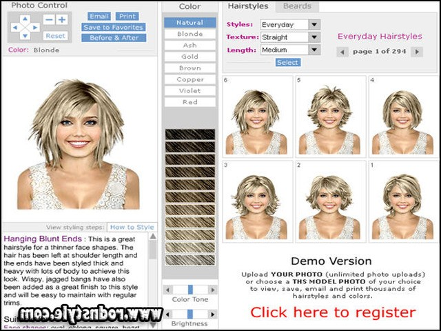 Free Virtual Hairstyles Upload Photo 12