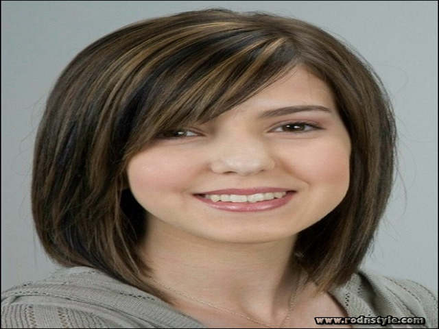 Haircuts For Fine Hair And Round Face 11