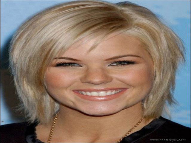 Haircuts For Fine Hair And Round Face 6