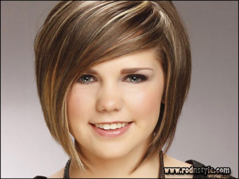 Haircuts For Fine Hair And Round Face 7