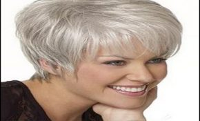 Hairstyles For Gray Hair Over 60 0