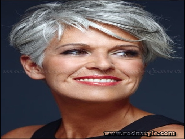 Hairstyles For Gray Hair Over 60 10