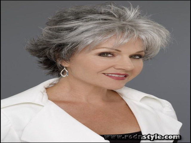 Hairstyles For Grey Hair Over 60 12