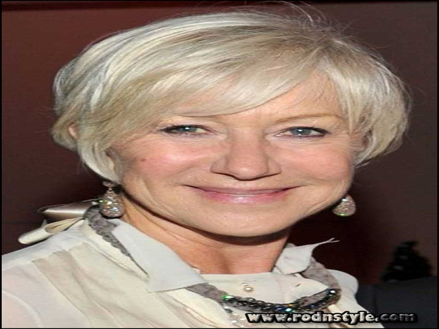Hairstyles For Older Women With Fine Hair 6
