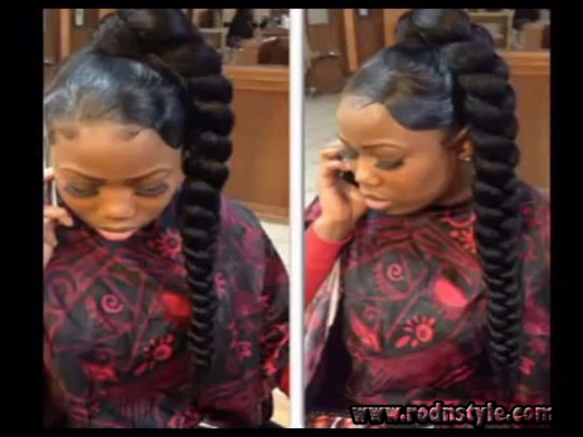 Hairstyles With Jumbo Braiding Hair 2