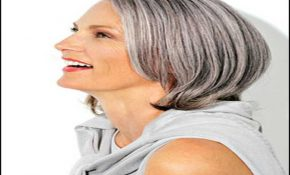 Short Haircuts For Grey Hair 13