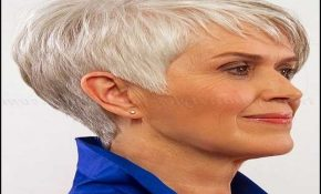 Short Haircuts For Grey Hair 7