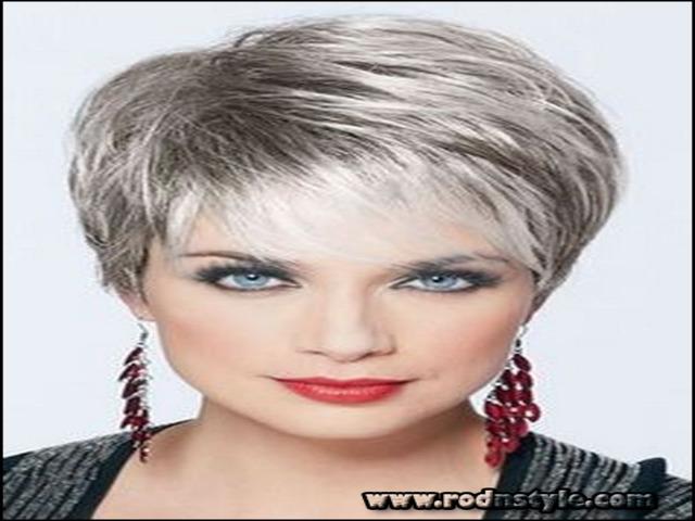 Short Haircuts For Grey Hair 9