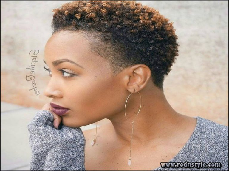 Short Haircuts For Natural Black Hair 3