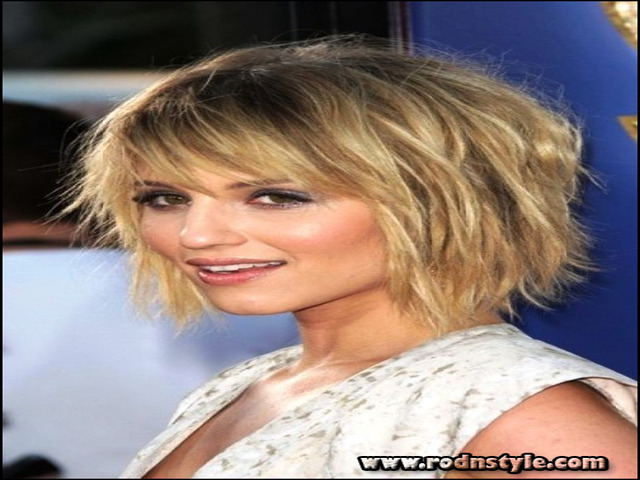 Med Haircuts For Fine Hair 7