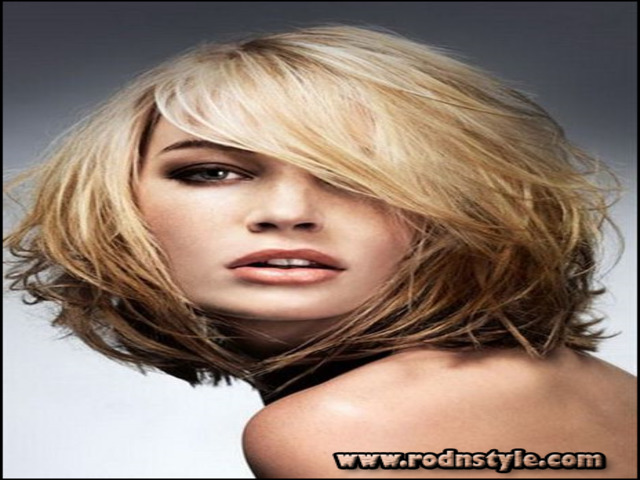 Mid Length Hairstyles Fine Hair 12