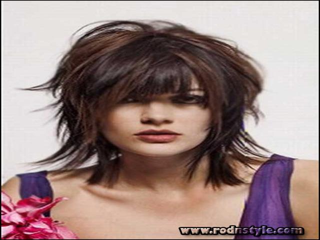 Shag Hairstyles For Fine Hair 2