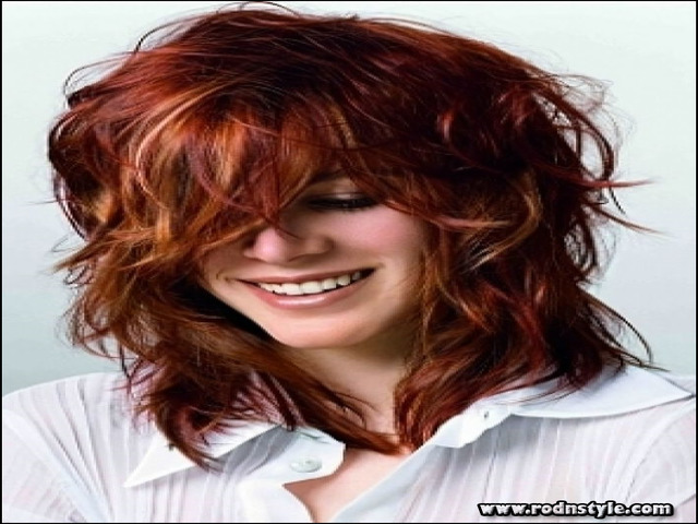 Shaggy Hairstyles For Thick Hair 2
