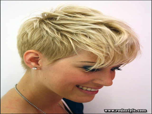 Short Haircuts For Thin Hair Pictures 6