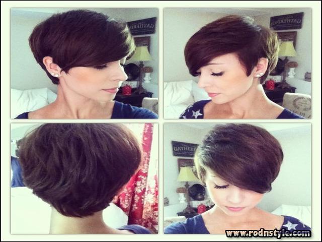 Short Haircuts Front And Back 0
