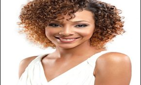 Short Jerry Curl Weave Hairstyles 2