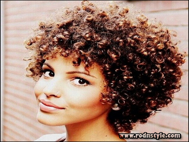 Short Natural Curly Haircuts 10