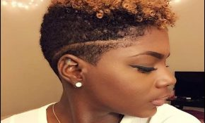 Short Natural Hairstyles With Color 6