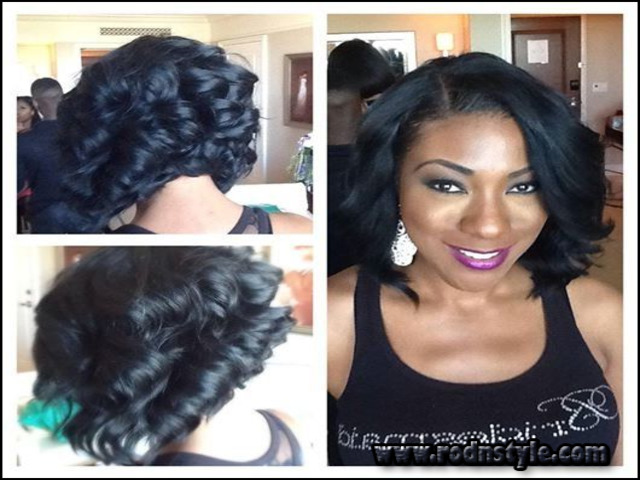 Short Sew In Weave Hairstyles Pictures 13
