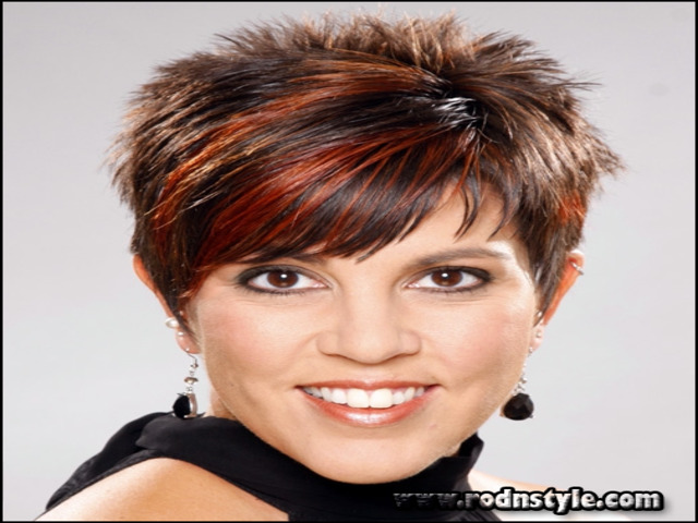 Short Spiky Haircuts For Round Faces 12