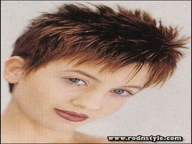 Short Spiky Haircuts For Round Faces 4