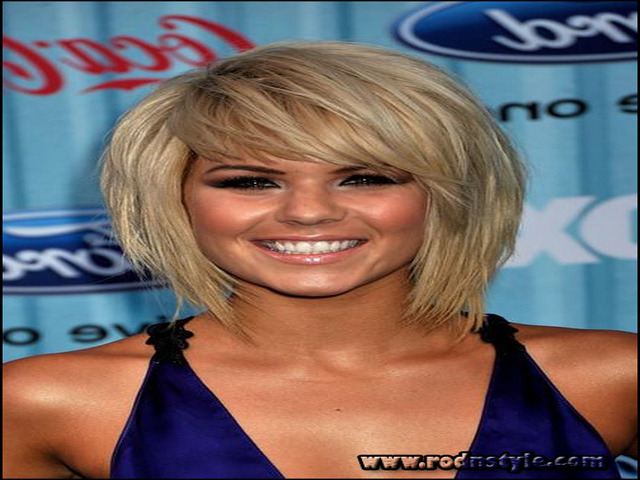 Short To Medium Hairstyles With Bangs 13